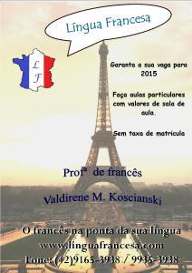 lingua francesa 2015