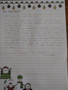 Amanda lettre